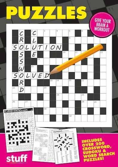 Puzzle Books magazine cover