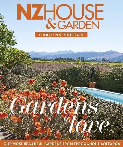 NZ House & Garden - Gardens To Love cover