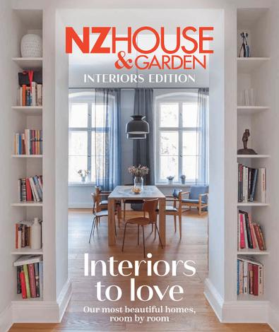 NZ House & Garden - Interiors To Love cover