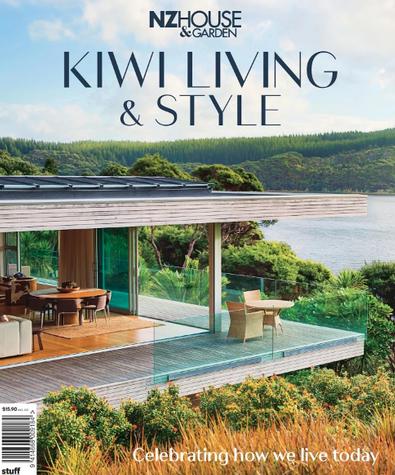 NZ House & Garden - Kiwi Living & Style cover