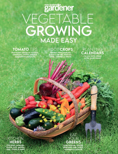 NZ Gardener - Vegetable Growing Made Easy cover