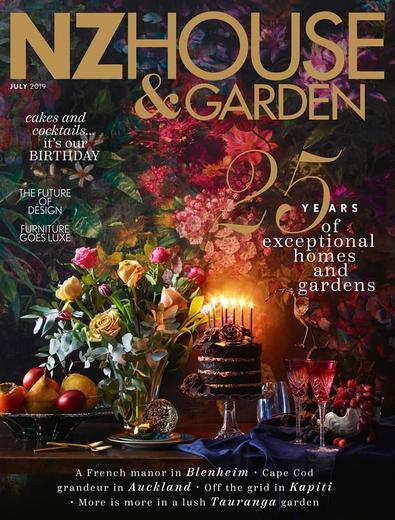 NZ House & Garden magazine cover