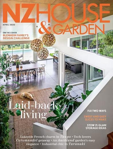 NZ House & Garden magazine cover