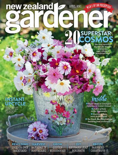 NZ Gardener magazine cover