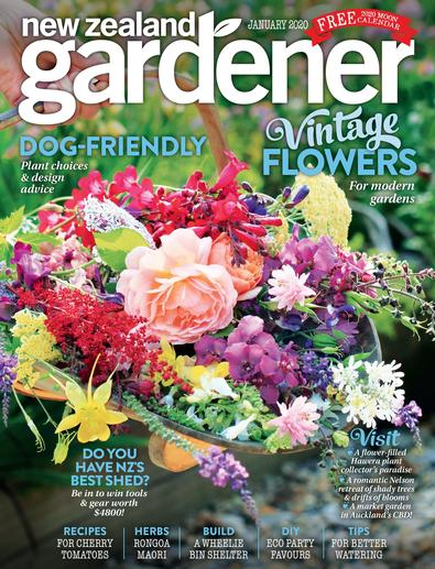 NZ Gardener magazine cover