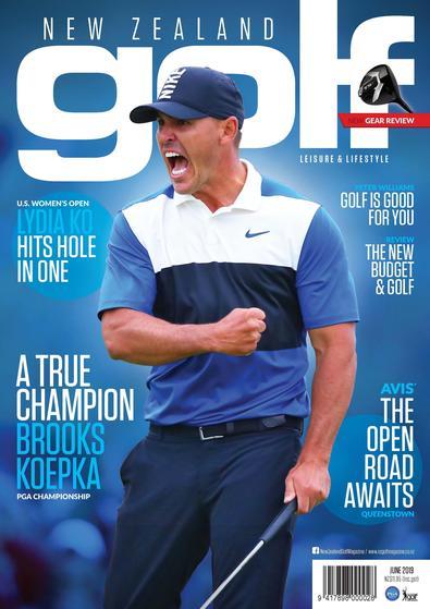 New Zealand Golf Leisure & Lifestyle Magazine cover