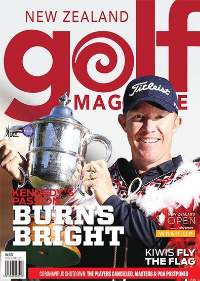 New Zealand Golf Magazine cover