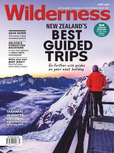 Wilderness magazine cover