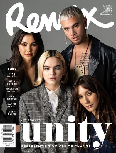 REMIX Magazine cover