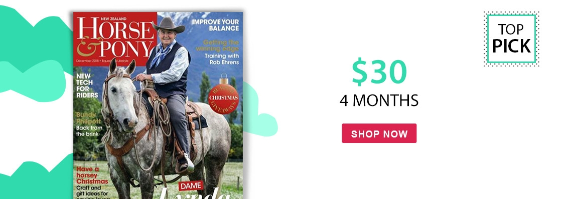 NZ Horse & Pony only $30