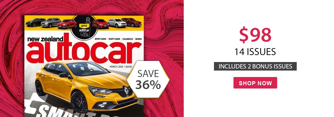Receive 2 bonus issues with NZ Autocar magazine