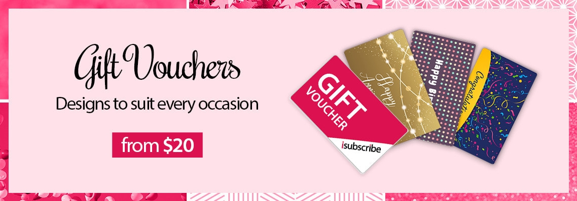 Gift Vouchers emailed instantly from $20